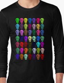 Salt Tax Grumpy Bones - Rainbow Long Sleeve T-Shirt