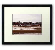 Interstate Drive By Shooting ... Framed Print