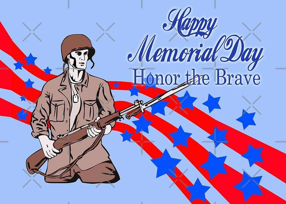 World War Two American soldier bayonet rifle by patrimonio