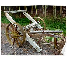Old Farm Implement - Old Chariot Poster