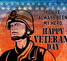 American soldier military serviceman hero vintage by patrimonio