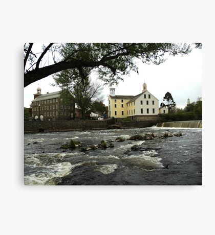 Across the river Canvas Print