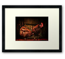 No Rosie, it's definately NOT there! Framed Print