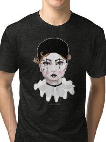 Pierrot - The Sad Clown Tri-blend T-Shirt