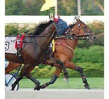 Cart racers Photographic Print