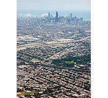 aye, chicagi! Photographic Print