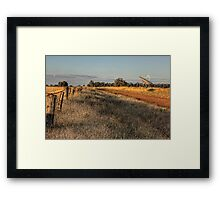 Sunset at Parkes • New South Wales • Australia Framed Print
