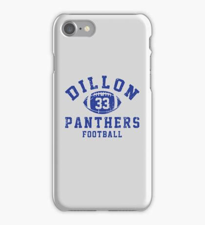 Dillon Panthers Football - 33 iPhone Case/Skin