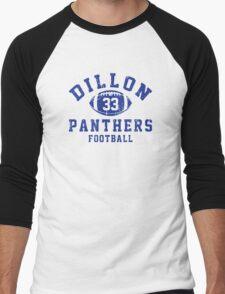 Dillon Panthers Football - 33 Men's Baseball ¾ T-Shirt