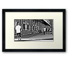 Freo Skaters Framed Print
