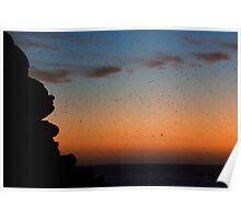 Living Sunset Poster