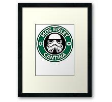 Mos Eisley Coffee Framed Print
