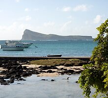 Gunners Coin (Coin de Mire) Mauritius by rajeshbac