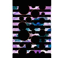 Behind the Screen Lavender Photographic Print