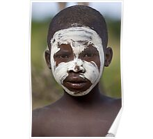 YOUNG BOY FROM THE BENA TRIBE Poster