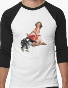 Pin up Girl Men's Baseball ¾ T-Shirt