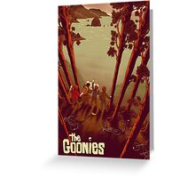 The Goonies Never Say Greeting Card
