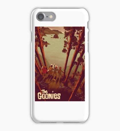 The Goonies Never Say iPhone Case/Skin