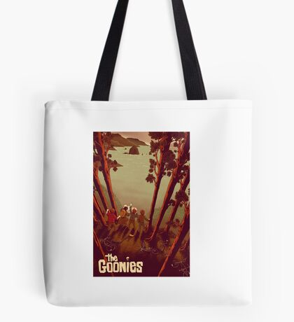 The Goonies Never Say Tote Bag