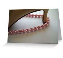 Pearls & Shoes. Still Life. Greeting Card