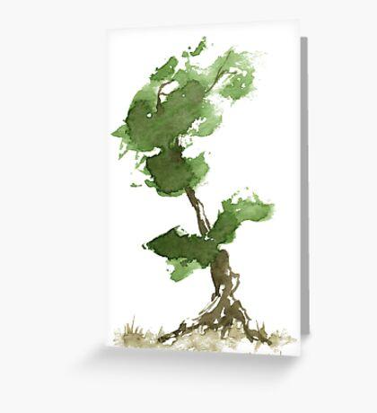 Little Zen Tree 184 Greeting Card