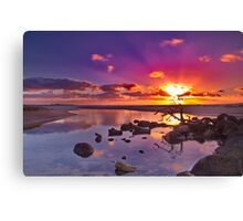 """Dayspring at Fisherman's Beach"" Canvas Print"