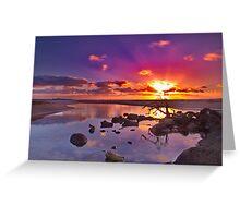 """Dayspring at Fisherman's Beach"" Greeting Card"
