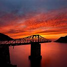 The bridges to sunset have collapsed by Hercules Milas