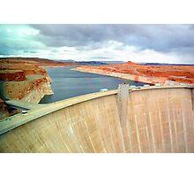 Glen Canyon Dam Photographic Print