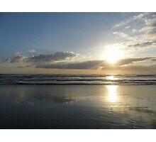 `* Sunset Beach *` Photographic Print