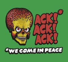 Mars Attacks - Ack Ack Ack by Faniseto
