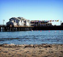 Santa Barbara Pier by alyssafadera
