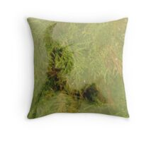 The Tree-Girl Throw Pillow
