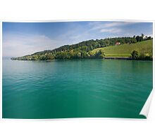 Green waters Poster