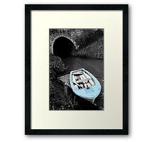 Mooring - Bruce Tunnel Framed Print
