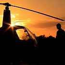Pre-flight helicopter  by Lebogang Manganye