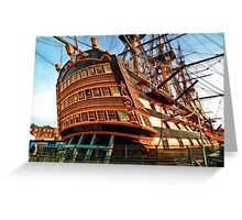 HMS Victory #2 Greeting Card