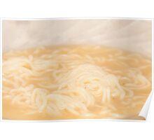 Boiled noodles Poster
