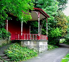 Bandstand on Lovers Walk, Matlock Bath by Rod Johnson