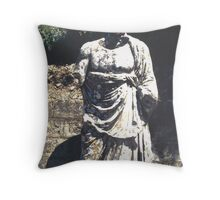 Vote... Idris for King of Libya Throw Pillow