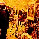 Art in Monmartre 1968 by pennyswork