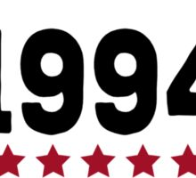 Making history since 1994 badge Sticker