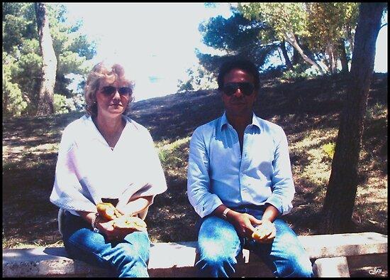 Meri and Idris by Janone