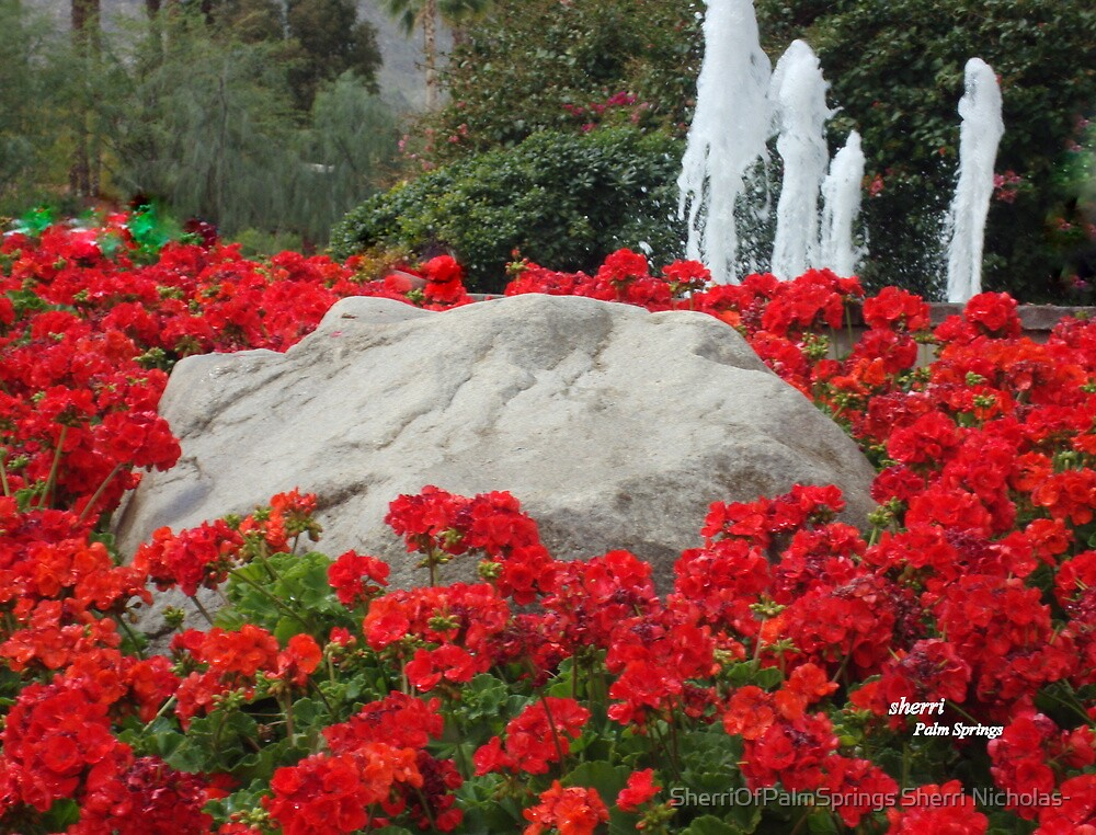 THE LITTLE GHOSTS OF GERANIUM PARK!! LOLi by Sherri Palm Springs  Nicholas