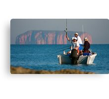 Remote Fishing Canvas Print