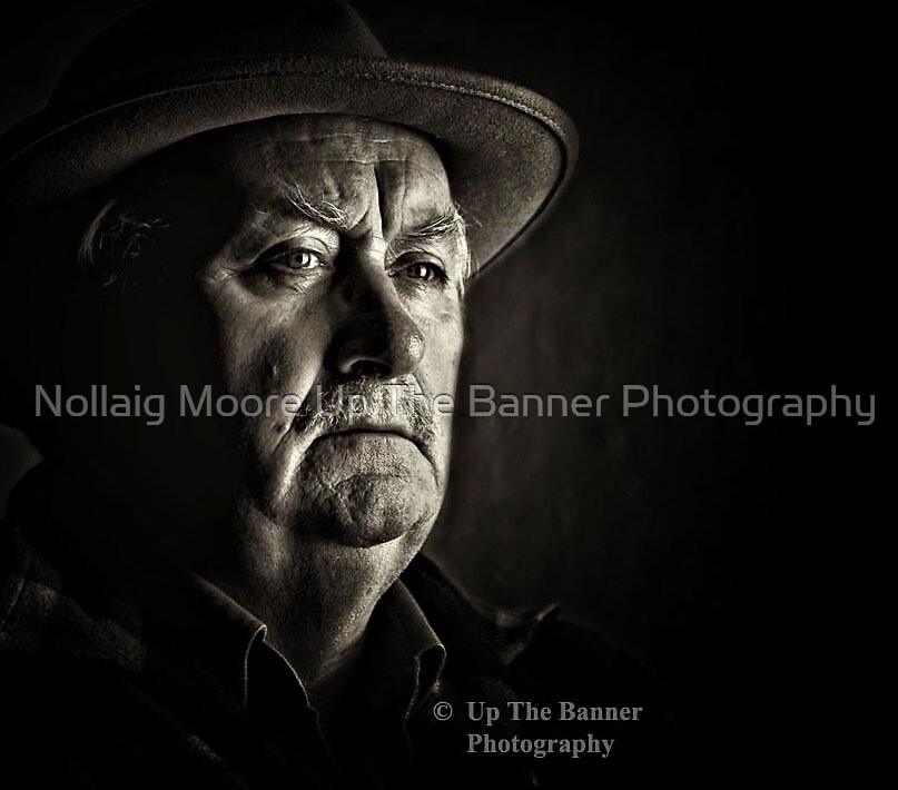 Portrait photography of a senior male, aka my oldman by Noel Moore Up The Banner Photography