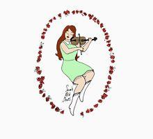 Fiddle pinup goddess - Violin Girl Unisex T-Shirt
