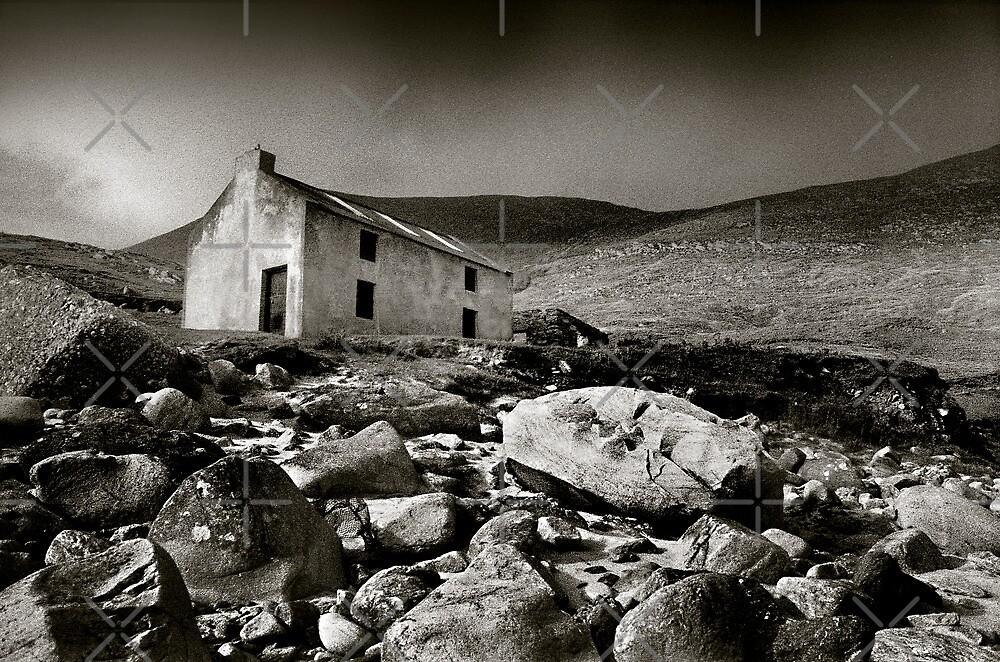 Abandoned Cottage, Achill Island, Ireland by 2cimage