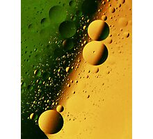 Oil-N-Water Photographic Print