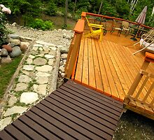 Walkways and deck by danieltrue